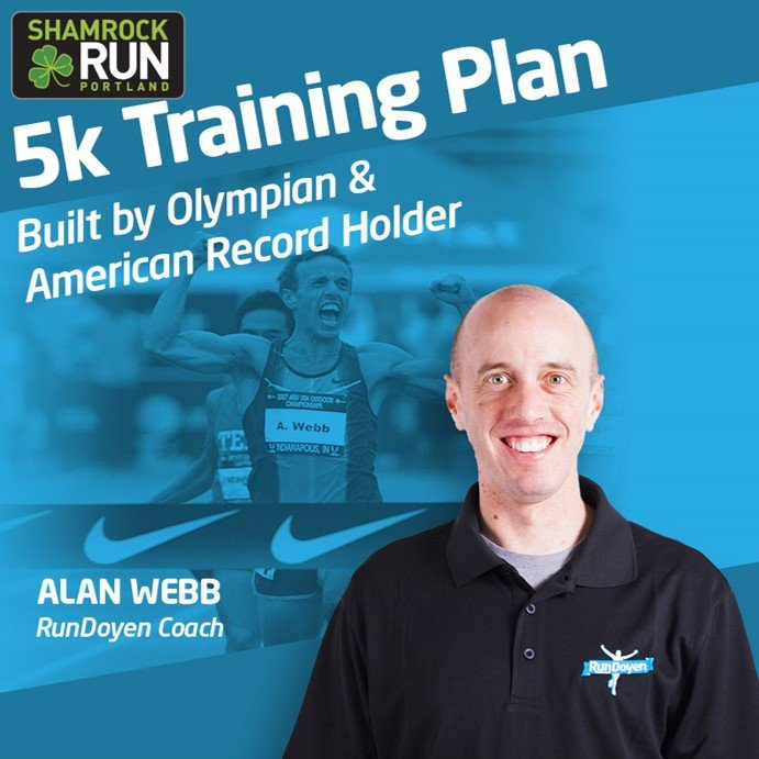 Get Alan's Shamrock Training Plan