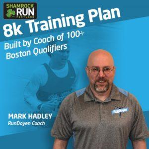 Get Mark's Shamrock Training Plan