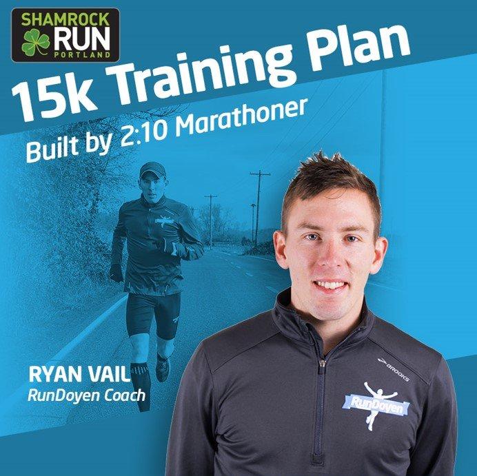 Get Ryan's Shamrock Training Plan