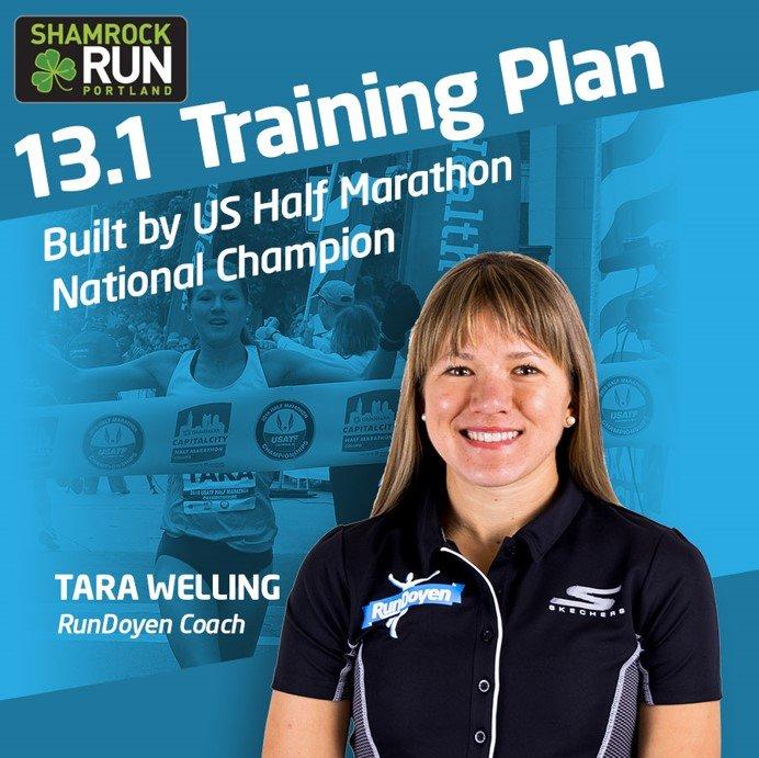 Get Tara's Shamrock Training Plan