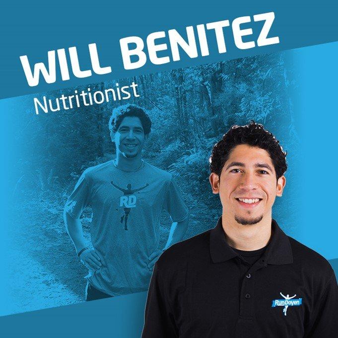 Will Benitez Nutritionist at RunDoyen
