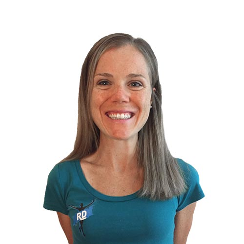 Lindsay Flanagan wearing RunDoyen Coach Shirt