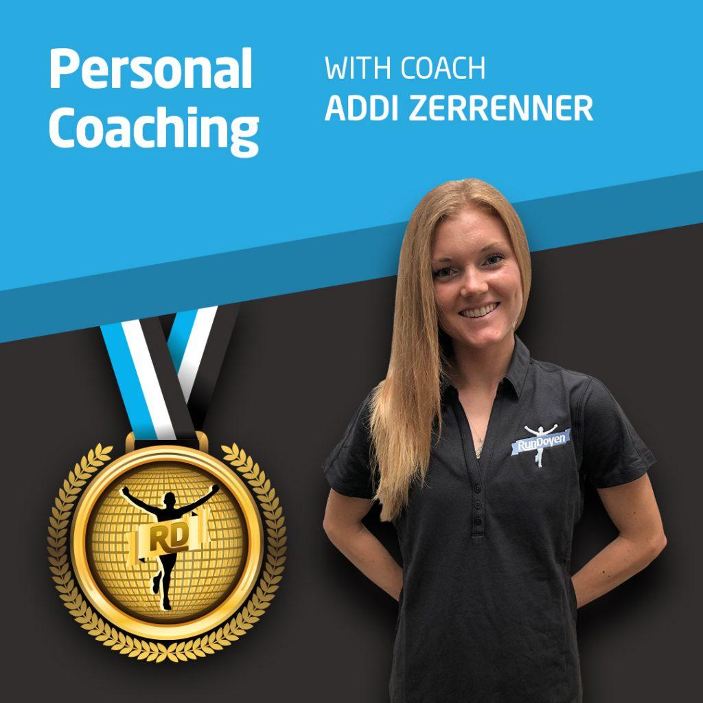 Personal Coaching with Running Coach Addi Zerrener