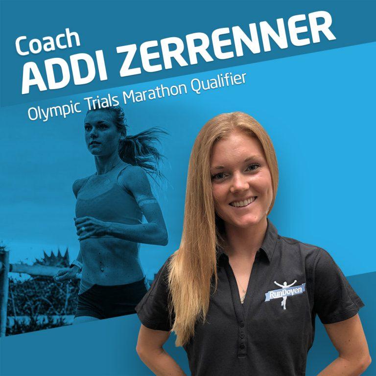 Running Coach Addi Zerrenner Olympic Trials Marathon Qualifier