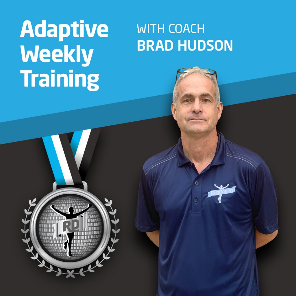 Adaptive Weekly Training with Running Coach Brad Hudson