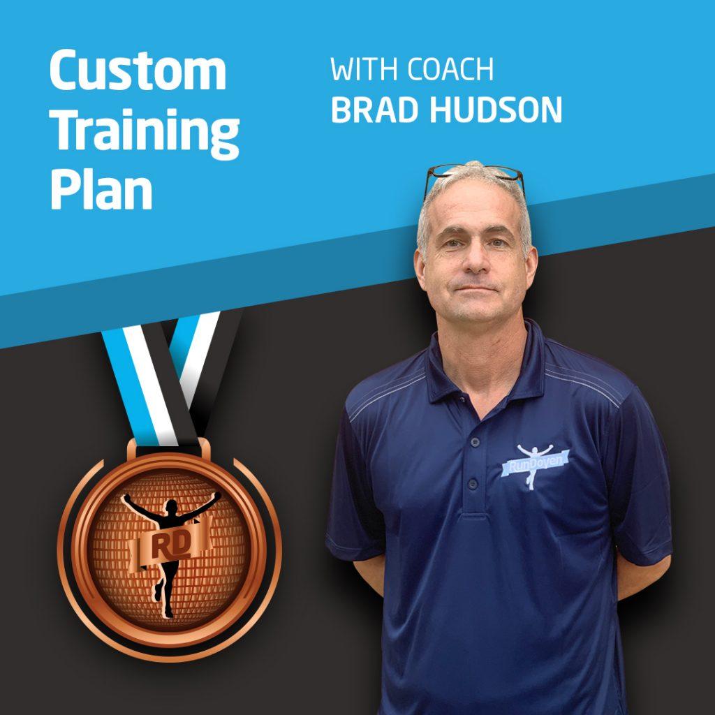 Custom Training Plan with Running Coach Brad Hudson