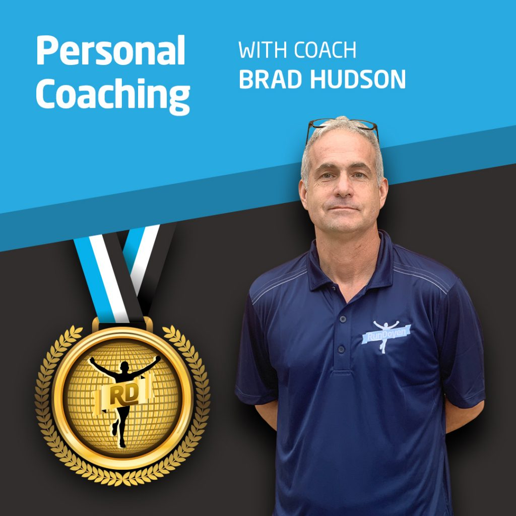Personal Coaching with Running Coach Brad Hudson