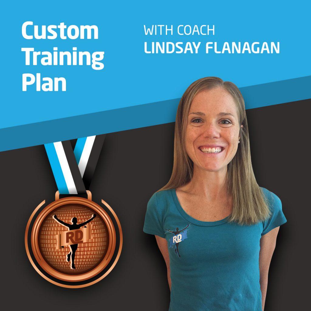 Custom Training Plan with Running Coach Lindsay Flanagan