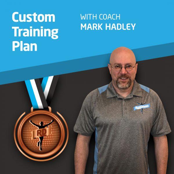 Custom Training Plan with Running Coach Mark Hadley