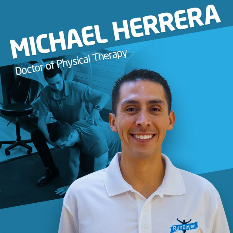 Physical Therapist Michael Herrera
