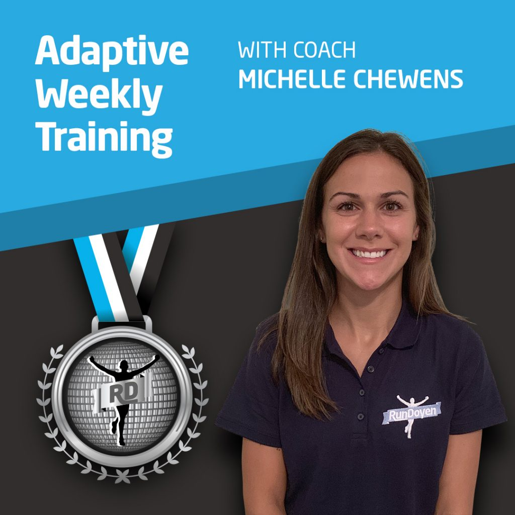 Adaptive Weekly Training with Running Coach Michelle Chewens