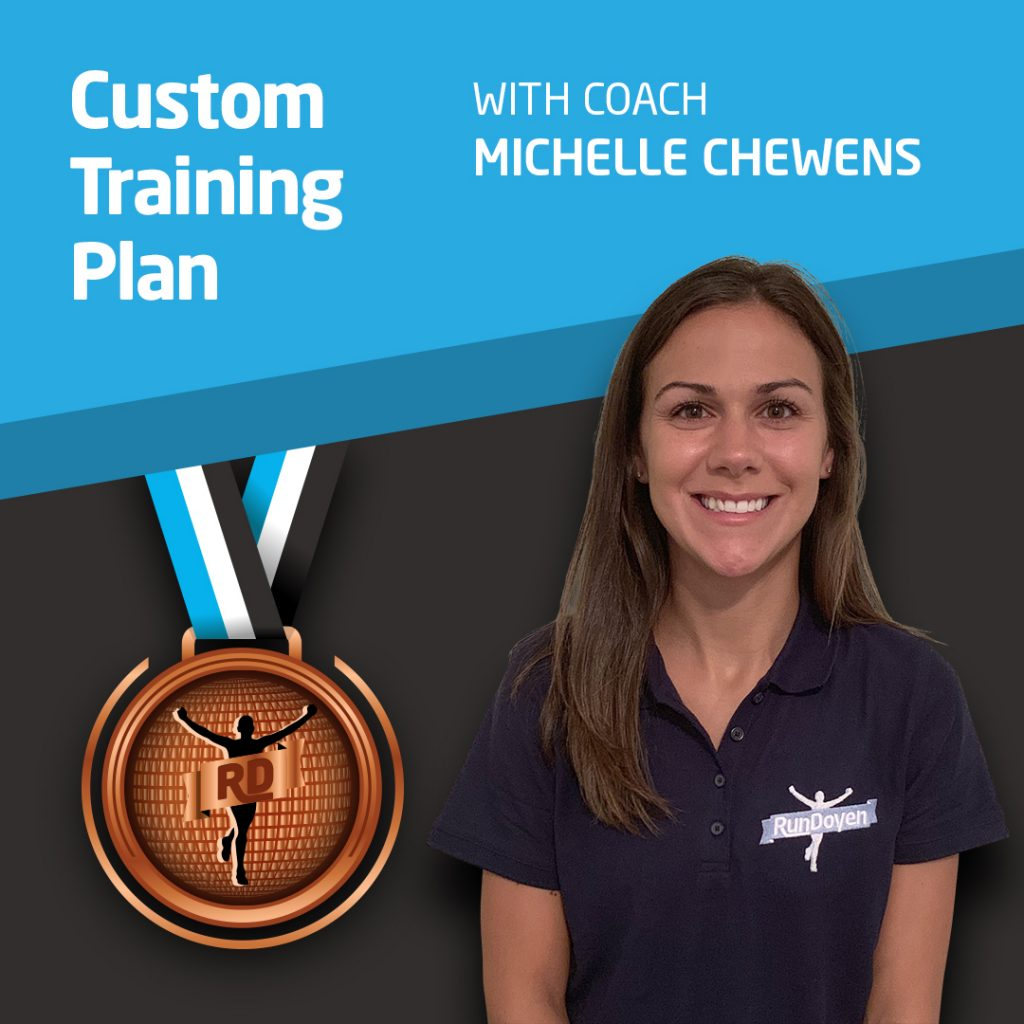 Custom Training Plan with Running Coach Michelle Chewens