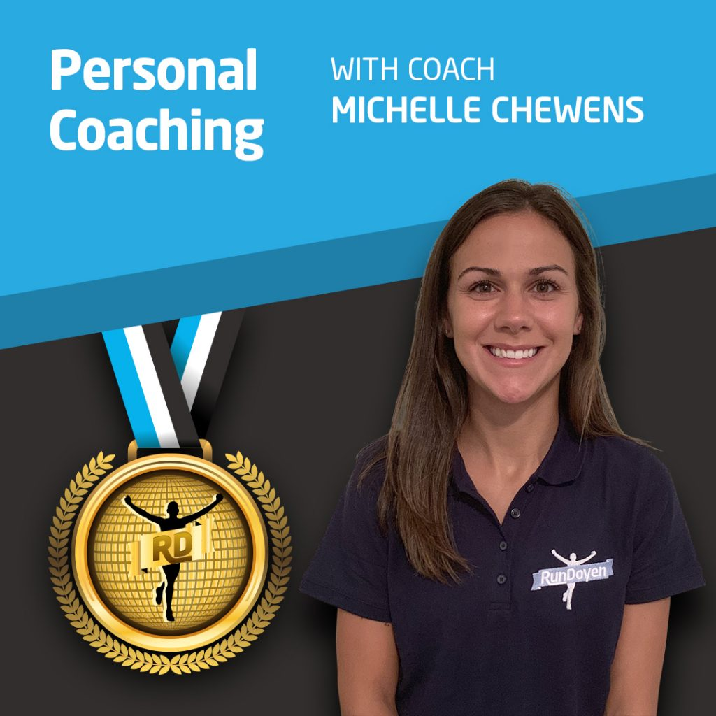 Personal Coaching with Running Coach Michelle Chewens