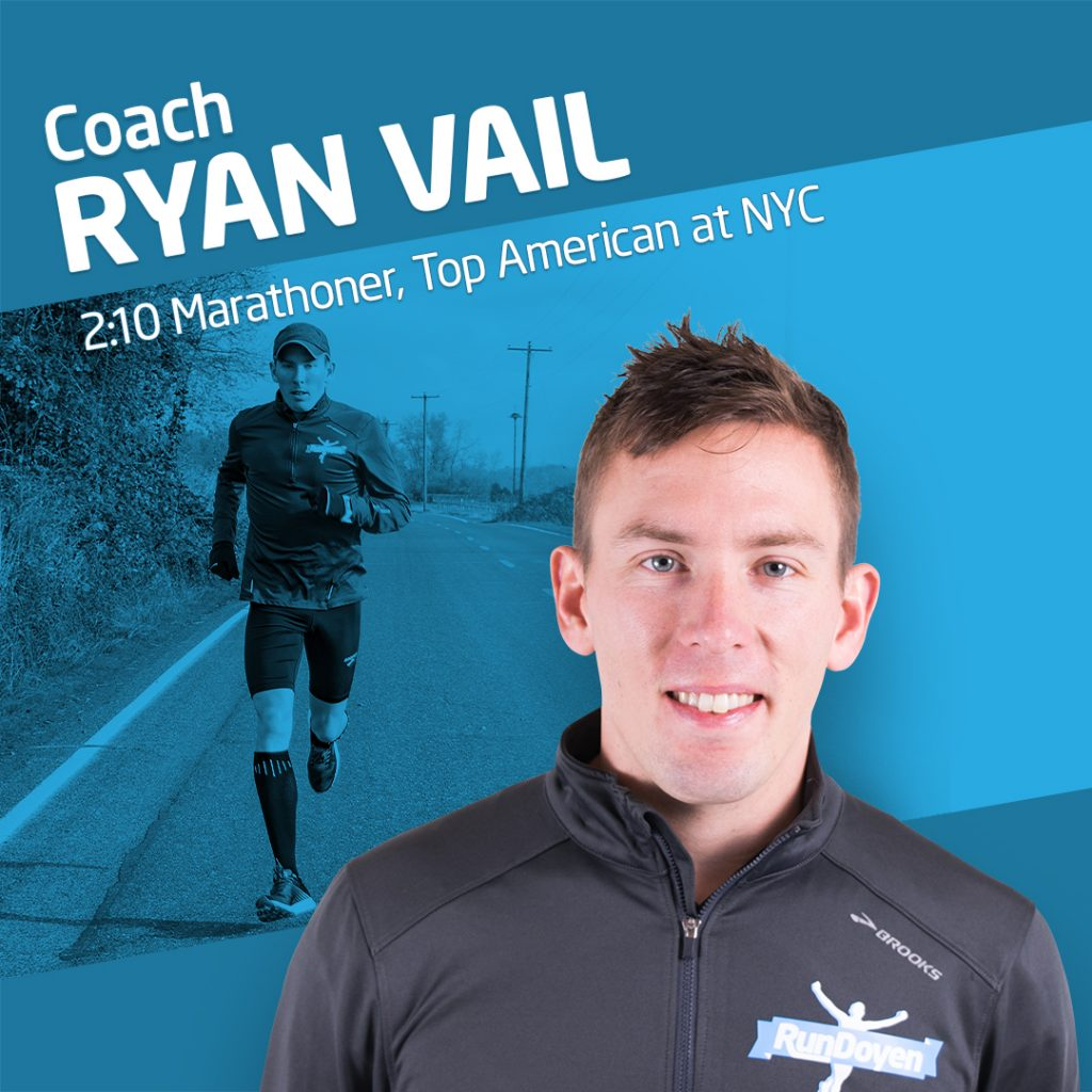Marathoner Ryan Vail Running Coach