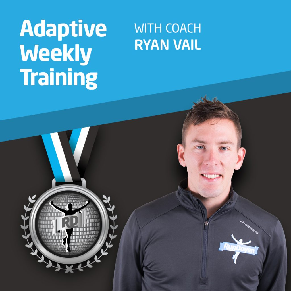 Adaptive Weekly Training with Running Coach Ryan Vail
