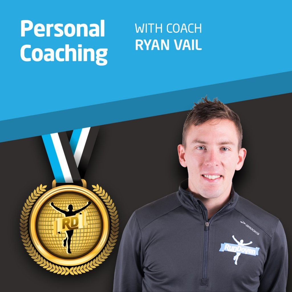Personal Running Coach with Running Coach Ryan Vail
