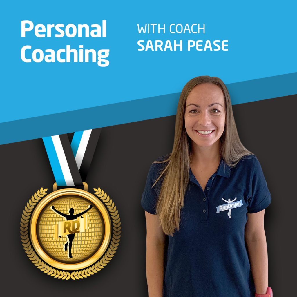 Personal Coaching with Running Coach Sarah Pease