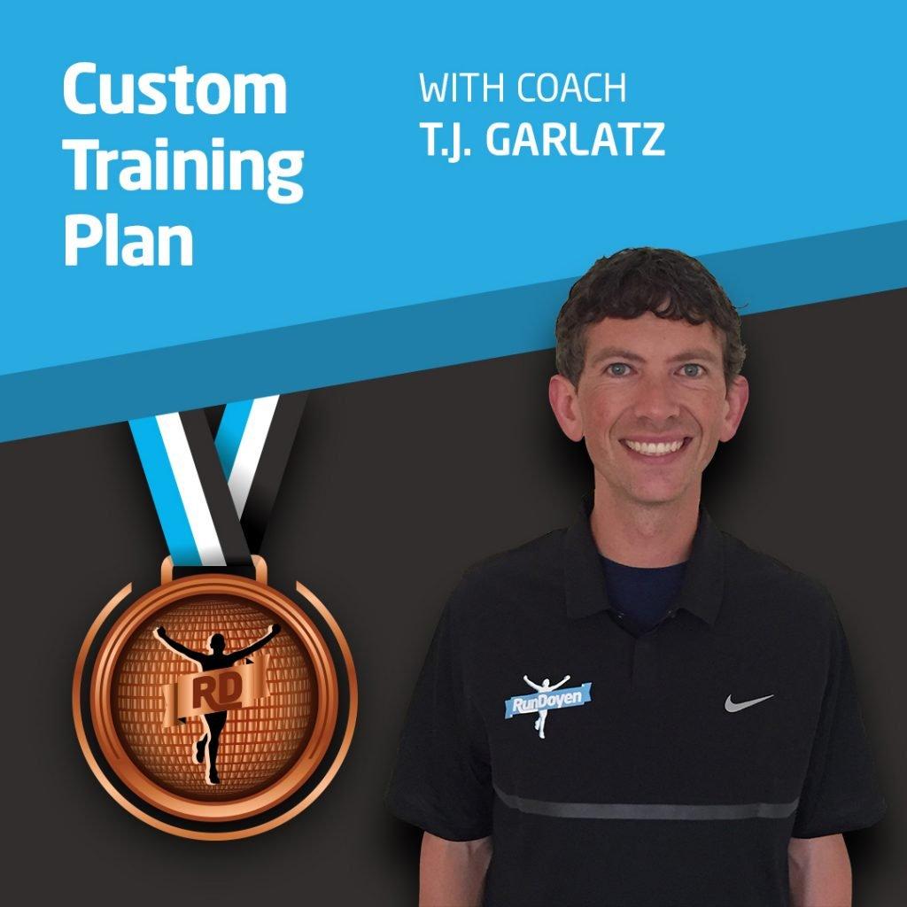 Custom Training Plan with Running Coach T.J. Garlatz