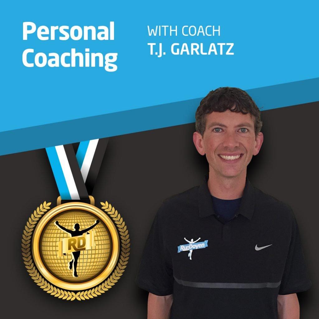 Personal Coaching with Running Coach T.J. Garlatz