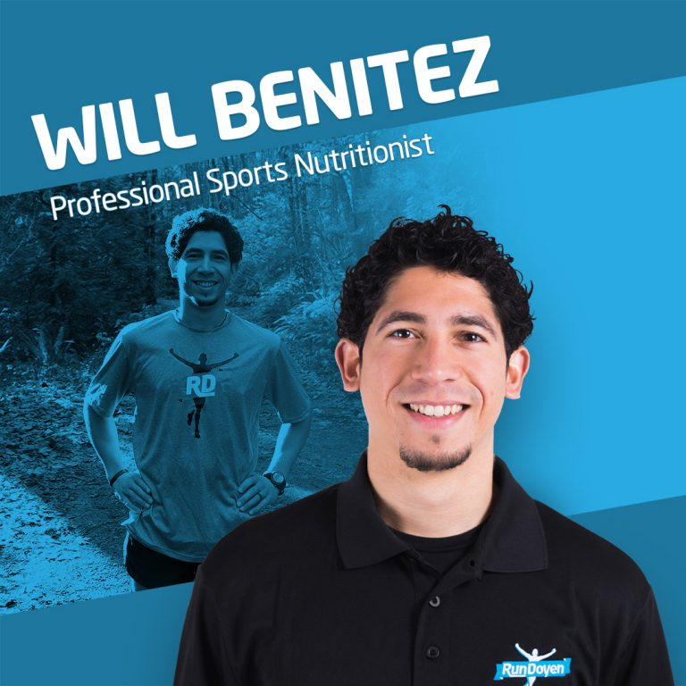Sports Nutritionist Will Benitez
