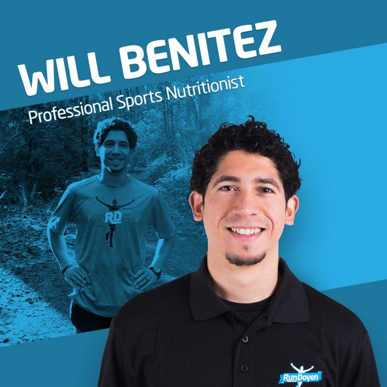 Sports Nutritionist Will Benitez