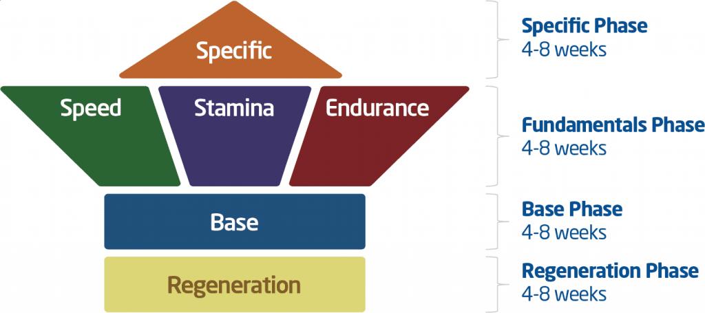 The 6 Phases of Marathon Training