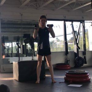 squat to press start
